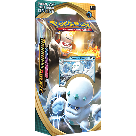 Pokemon TCG: Sword and Shield - Darkness Ablaze Galarian Darmanitan Theme Deck
